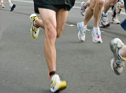 Runner who is running