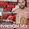 What are the HyperGH 14x Ingredients?